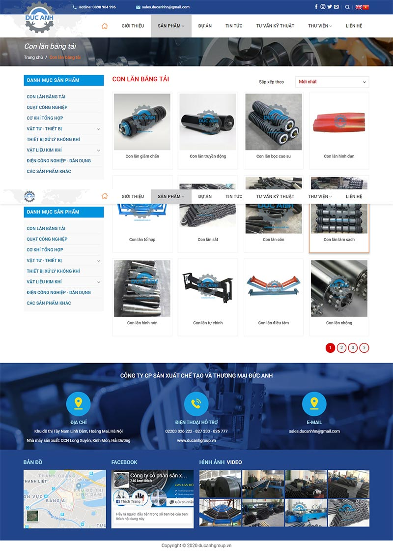 Website Ducanhgroup 2